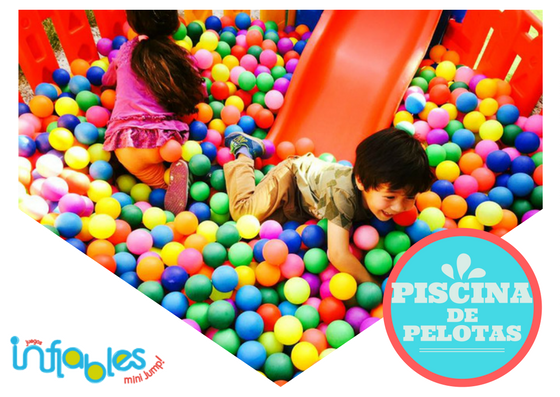 Piscina De Pelotas Juegos Inflables Mini Jump